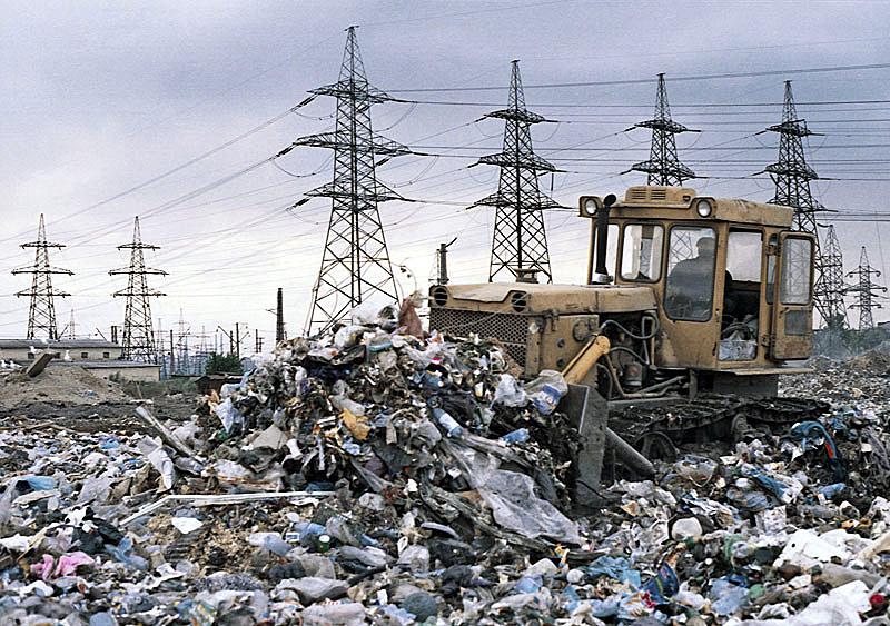 Переработка мусора ростов